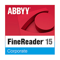 Офисный пакет ABBYY FineReader 15 Corporate AF15-3S1W01-102