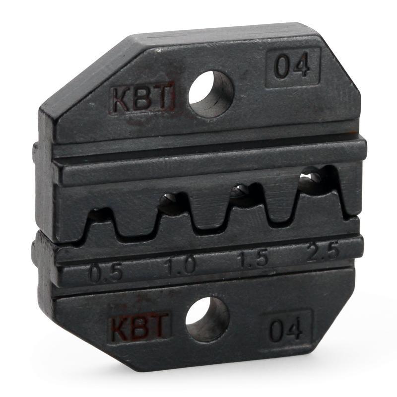Номерные матрицы для опрессовки автоклемм под двойной обжим