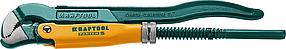Ключ трубный KRAFTOOL, PANZER-S, №0, изогнутые губки (2733-05_z02)
