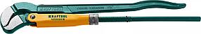 Ключ трубный KRAFTOOL, PANZER-S, №2, изогнутые губки (2733-15_z02)