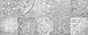 Кафель | Плитка настенная 20х50 Тоскано | Toscano 2Д серый панно