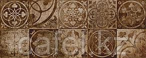 Кафель | Плитка настенная 20х50 Тоскано | Toscano 4Д коричневый панно