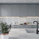 Кафель | Плитка настенная 20х50 Тоскано | Toscano Д 7 белый панно, фото 2