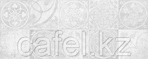 Кафель | Плитка настенная 20х50 Тоскано | Toscano Д 7 белый панно
