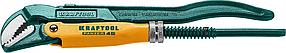 Ключ трубный PANZER-45, №0, KRAFTOOL, изогнутые губки (2735-05_z02)