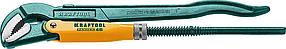 Ключ трубный PANZER-45, №1, KRAFTOOL, изогнутые губки (2735-10_z02)