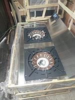 Газовая плита ВОК для большого казана. 2 конфорки