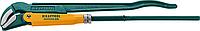 Ключ трубный PANZER-45, №3, KRAFTOOL, изогнутые губки (2735-20_z02)
