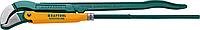 Ключ трубный PANZER-45, №4, KRAFTOOL, изогнутые губки (2735-30_z02)