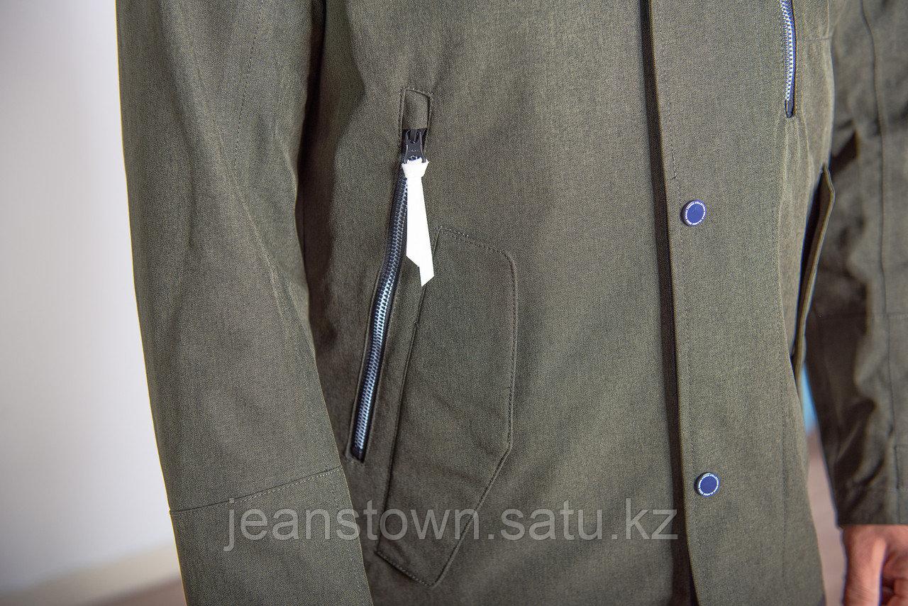 Куртка мужская демисезонная Shark Force длинная хаки - фото 9