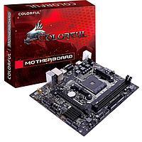Материнская плата AM4 Colorful A320M-K PRO YV14 2*DIMM, 1*PCIExp, VGA HDMI, 2*USB2.0, 2*USB3.0
