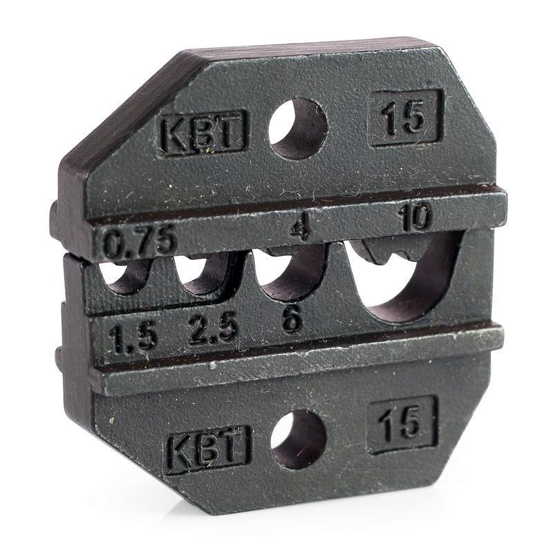 Номерные матрицы для опрессовки неизолированных медных наконечников и гильз