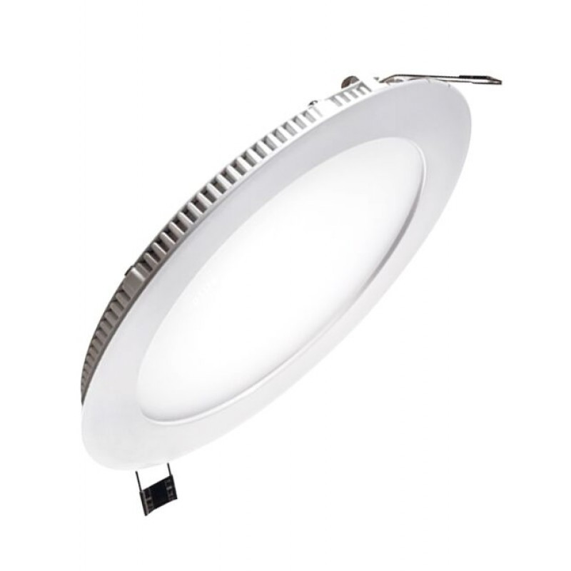 Светодиодная панель круглая встраиваемая 442RRP-09 ø145 9W/710 Lm 4200 К Электросвет