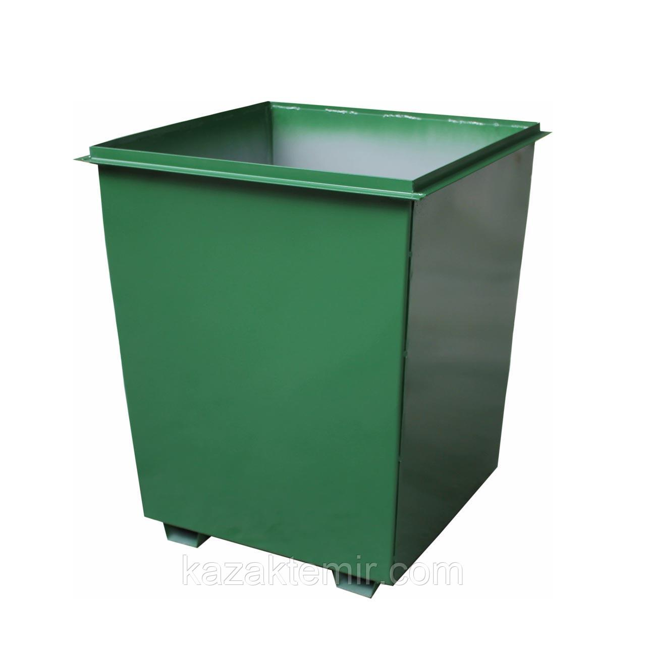 Мусорный контейнер 0,75 куб для погрузки
