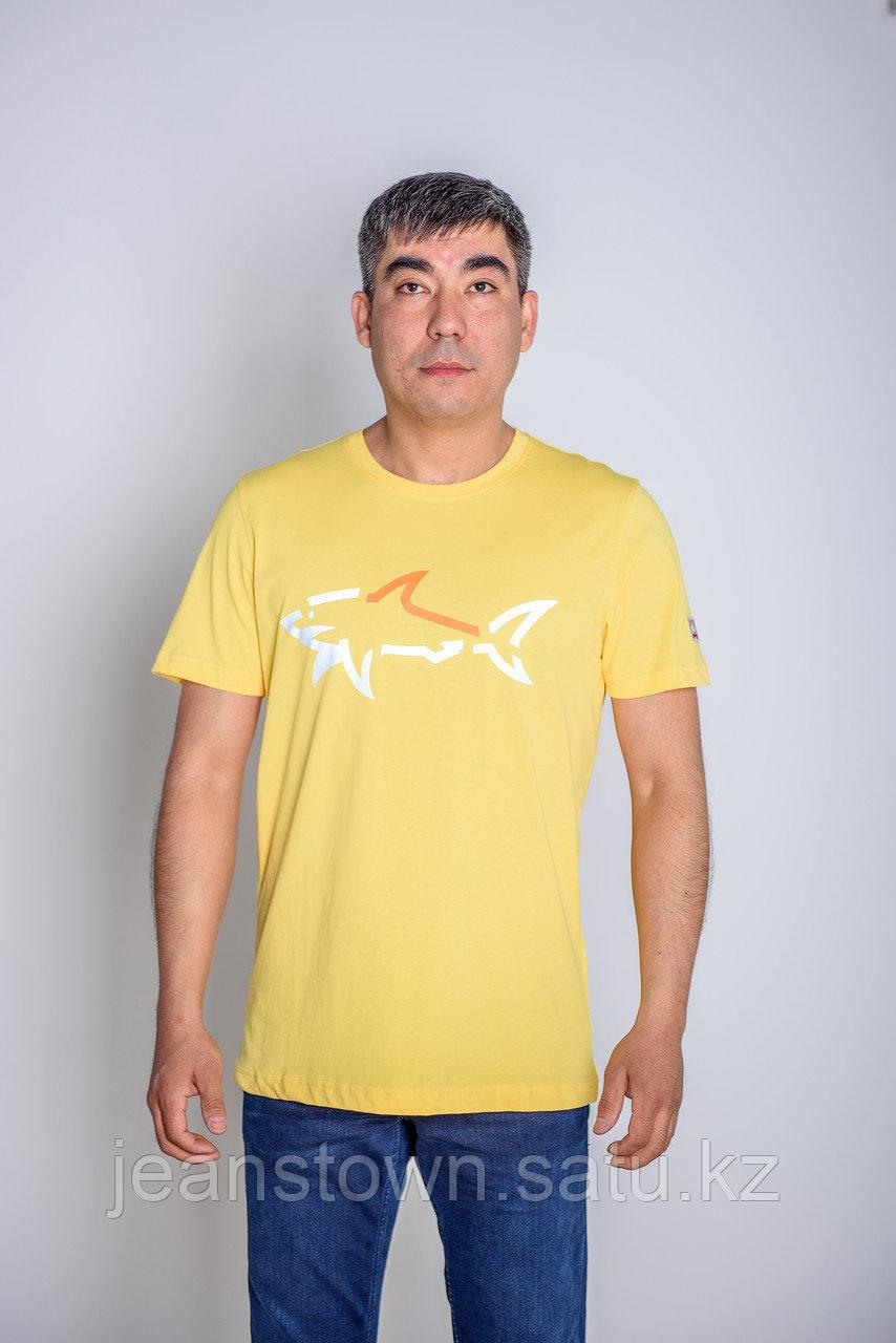 Футболка мужская Paul&Shark желтая