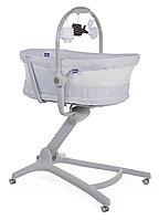 Кроватка-стульчик Chicco Baby Hug Air 4в1 Stone