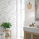 Кафель | Плитка настенная 30х60 Мирабель | Mirabel 7Д белый, фото 3