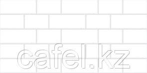 Кафель | Плитка настенная 30х60 Мирабель | Mirabel 7 тип 1 белый
