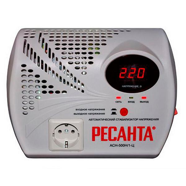 Стабилизатор напряжения Ресанта ACH-500Н/1-Ц -500Вт