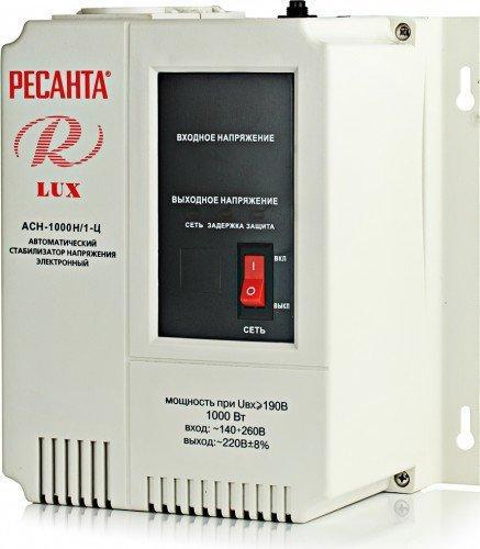 Стабилизатор напряжения Ресанта ACH-1500Н/1-Ц-1.5 кВт