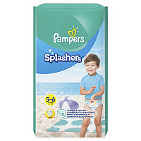 Трусики PAMPERS Splashers для плавания Junior-Extra Large (14+ кг)