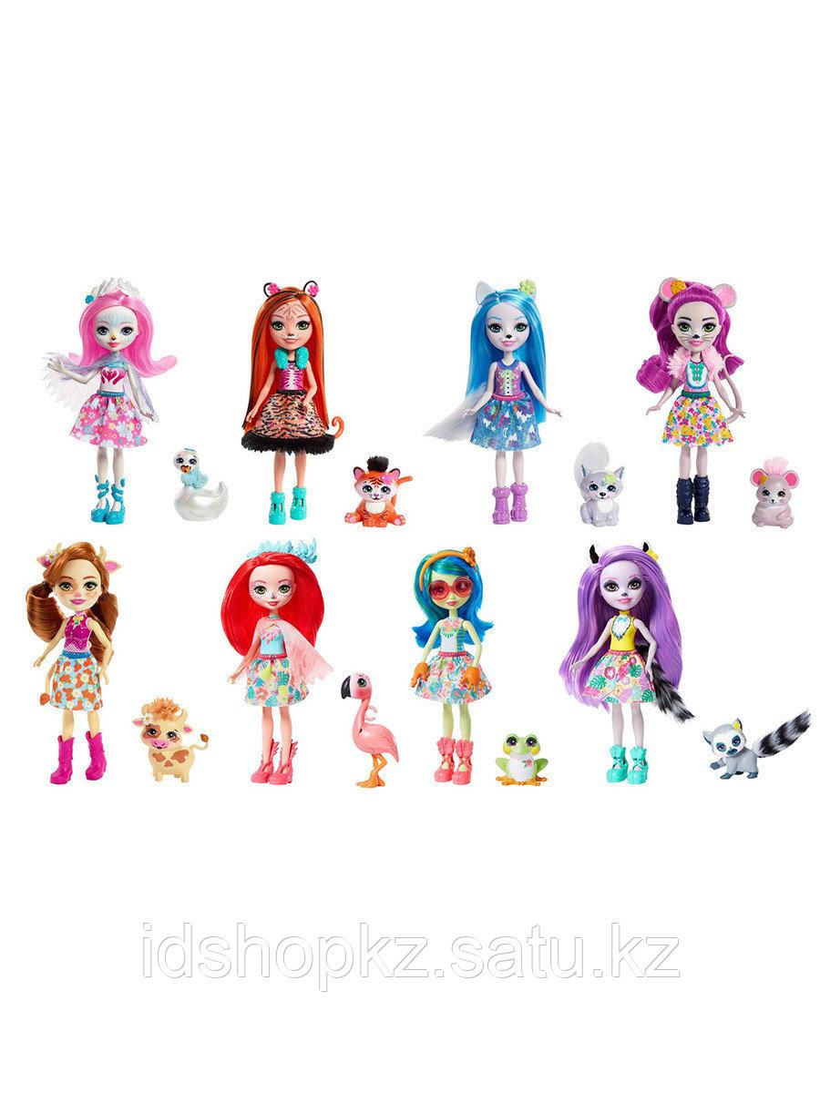 Кукла Enchantimals FNH22 дополнительная со зверюшкой в ассортименте - фото 1