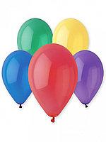 Набор воздушных шаров PM 018-GB Crystal 25см. (1,8g) цвет в асс. 12шт