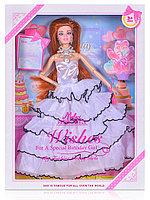 Кукла 388A в белом длинном платье