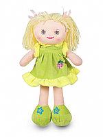 Мягкая игрушка Кукла Соня в зеленом платье 35 см C6767-35-1 ТМ Коробейники