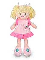 Мягкая игрушка Кукла Соня в розовом платье 35 см C6767-35-2 ТМ Коробейники