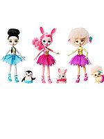 Набор из 3-х кукол Волшебные балерины FRH50 Enchantimals