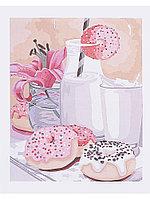 Раскрашивание по номерам 40*50 А056 Сладкий завтрак