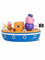 Игровой набор 37224 Свинка Пеппа Peppa Pig Корабль дедушки Пеппы