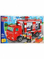 Конструктор пожарный камаз 177 дет. 3514-KK Город мастеров