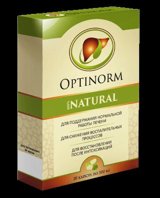 OptiNorm (Оптинорм) - капсулы для оздоровления печени