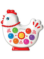Музыкальная игрушка Веселушки Курочка 4680019282657 Азбукварик