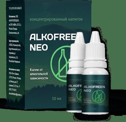 Alkofreen Neo (Алкофрин Нео) – капли от алкогольной зависимости