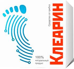 Клеарин - саше от грибка ногтей и стопы