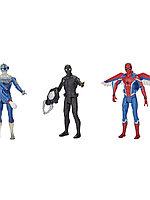 Фигурка Человек-паук (SPIDER-MAN) с интерактивным аксессуаром 15см E3549 HASBRO в ассортименте