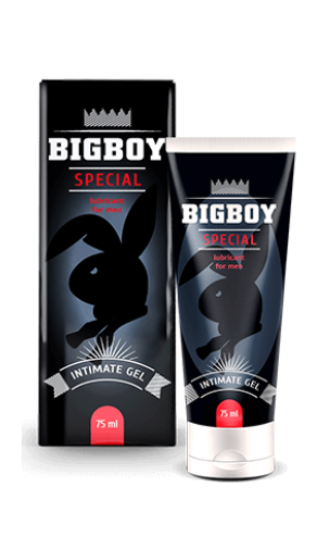 Bigboy (Бигбой) - интимный гель для возбуждения мужчины