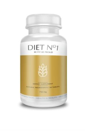 Diet No.1 (Дает №1) - капсулы для похудения