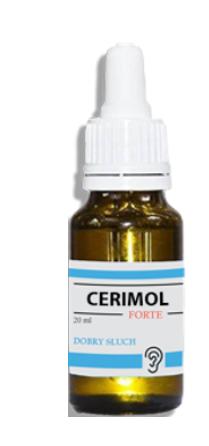 Cerimol Forte (Серимол Форте) - капли для улучшения слуха