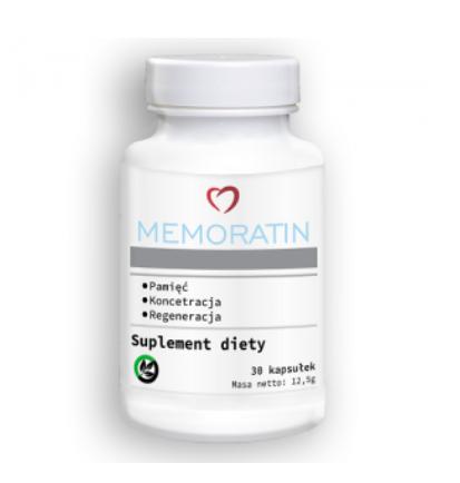 Memoratin (Меморатин) - капсулы для улучшения работы мозга