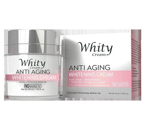 Whity Anti-Aging Cream (Вайти Анти-Эйдж Крим) - крем для омоложения