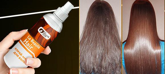 La beauty hair -  спрей-маска для роста волос