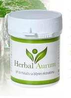 Herbal Aurum (Хербал Аурум) - крем от болезней суставов