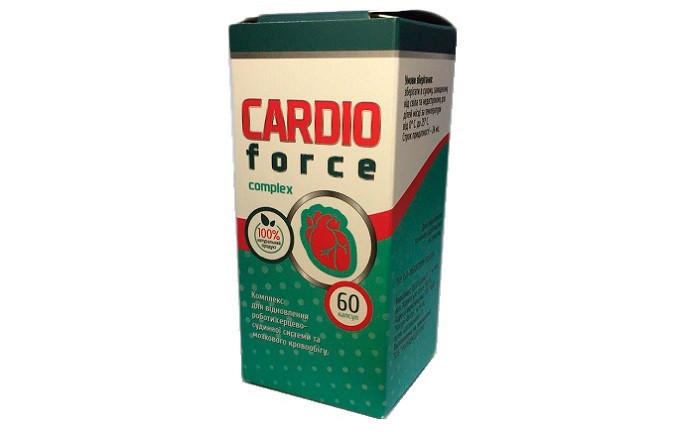 CardioForce (КардиоФорс) – капсулы от гипертонии