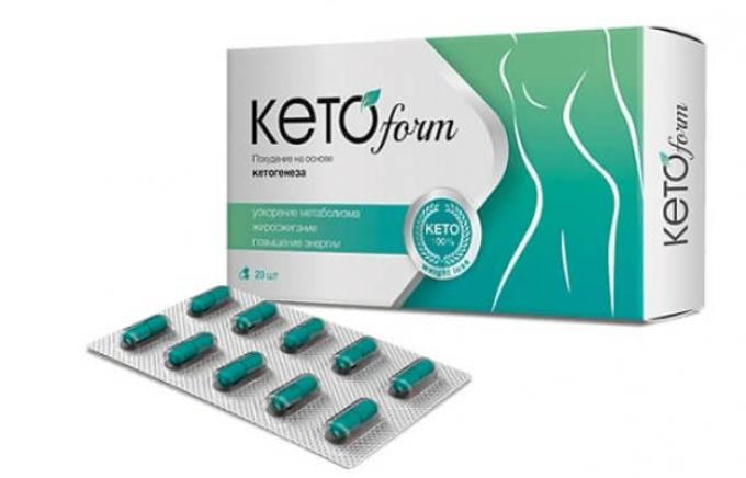 KetoForm (КетоФорм) - капсулы для похудения