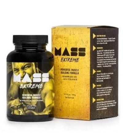 Mass Extreme (Масс Экстрим) — капсулы для роста мышечной массы