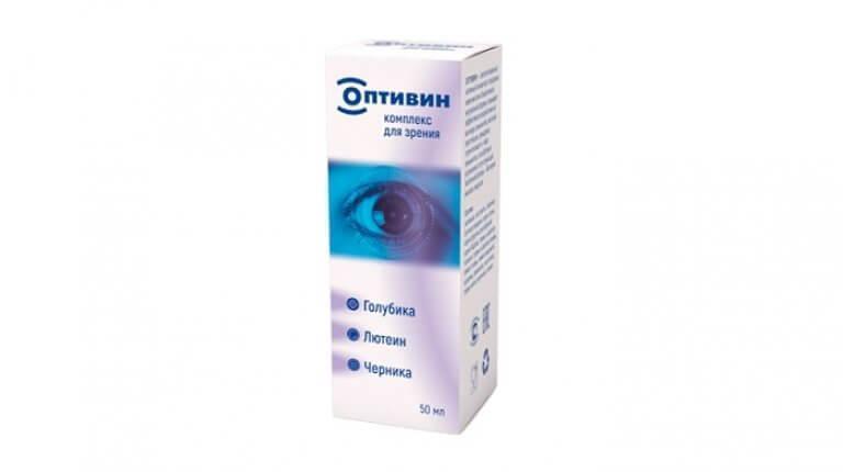 Оптивин — капли для восстановления зрения